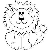 Disegni Da Colorare Del Leone Maschere Di Carnevale Di Animali