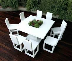 contemporary outdoor furniture perth. modern outdoor furniture perth wa exterior minimalist white dining table set cool contemporary r