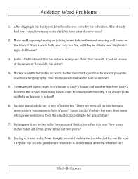 algebra coin word problems worksheet best the single step addition word problems using single digit numbers