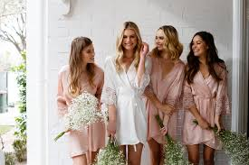 Bridal Party Dressing Gowns Australia