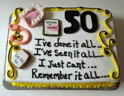 Over The Hill Cake 50th Birthday Cupcake Birthday Cake Funny