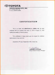 5 Certificate Of Employment Sales Clerked