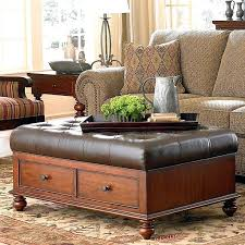 white leather coffee table upholstered footstool coffee table black storage ottoman leather ottoman table white leather