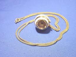 vintage white enamel gold bucherer