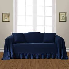 ideas furniture covers sofas. Blue Sofa Cover Decorating Ideas Furniture Covers Sofas V