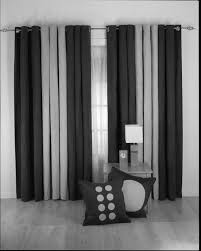 Black And White Curtain Designs Modern Black White And Gray Curtains Trend Design Models