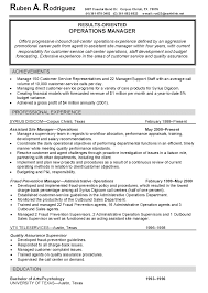 Sample Resume For Construction Site Supervisor Free Resume