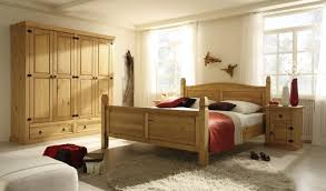 Schlafzimmer Betten Holz Niedrige Massivholz Liege Aus Geölter