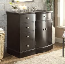 40 inch bathroom vanity to the floor sink on the right espresso color 40 wx22 dx37h c80830