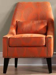 modern orange accent chair outstanding orange accent chair with additional small home