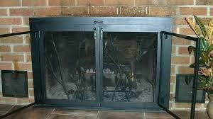 glass fireplace doors free standing glass fireplace doors s free standing fireplace screen with glass doors glass fireplace doors