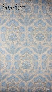 Baroque Wallpaper Baby Blauw Barok Behang Swiet Baroque Vintage