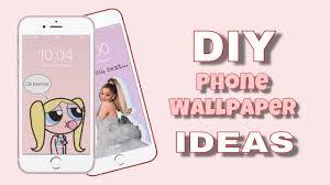 DIY PHONE WALLPAPER IDEAS (IOS and ...
