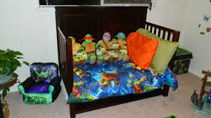 Ninja Turtle Bedroom Memoirs From The Belly How We Turned My Sons Room Into An Epic