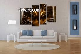piece brown cat canvas photography