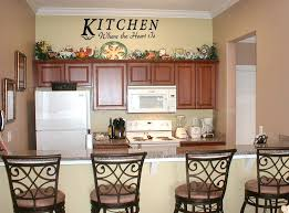 Cool Large Kitchen Wall Decor And Kitchen Decorating Ideas Wall Art Of Fine  Decor For Kitchen Walls Design Ideas
