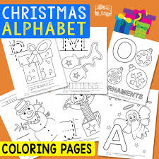 If your kids like to color, these alphabet coloring pages are sure to please! Christmas Alphabet Coloring Pages Itsybitsyfun Com