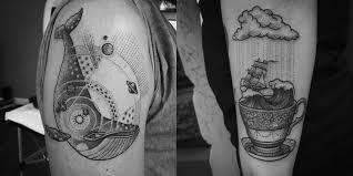 Che Cosè Il Dotwork Il Tatuaggio A Puntini Tatuaggi Giapponesi
