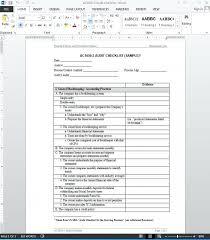 Sample Checklist In Word Loan Review Checklist Sba Portfolio Trid Estimate To Do Mirlandano