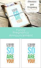 Pregnancy Template Pregnancy Announcement Card Template