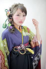 フィッシュボーン 袴 コンサバ ヘアアレンジ 長江 里穂子 60320hair