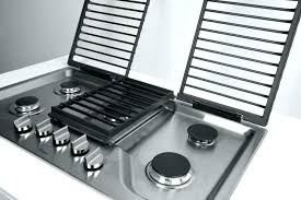 gas cooktop with downdraft. 30 Gas Cooktops With Downdraft Jgd34bs Regarding Inch For Wolf . Cooktop