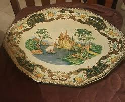 Daher Decorated Ware 11101 Tray DAHER DECORATED Ware Serving Tray Long Island NY Made in England 93