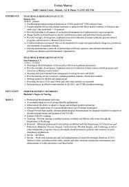 Sample Faculty Resume Teaching Research Faculty Resume Samples Velvet Jobs 19