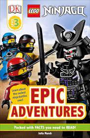 Amazon.com: DK Readers Level 3: LEGO NINJAGO: Epic Adventures  (9781465484260): March, Julia, DK: Books