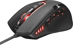 <b>Trust GXT 164 Sikanda</b> MMO USB Gaming mouse Optical Backlit ...