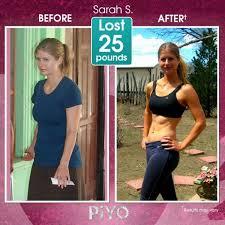 piyo workout results low impact
