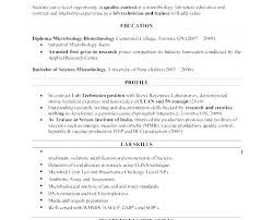 Microbiologist Resume Sample Microbiology Resume Microbiology Resume