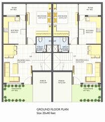 20 40 house plan awesome 40 x 40 house plans fresh 20 x 40 floor