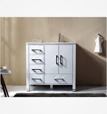 36 inch white bathroom vanity. Anziano 36\ 36 Inch White Bathroom Vanity
