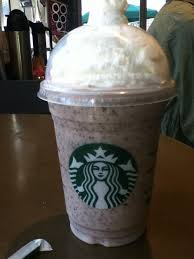 cookies cream frappuccino the secret a double chocolate chip frap with white mocha sauce