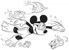 I Disegni Disney Da Stampare E Colorare