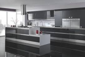 high gloss kitchen cabinets gray