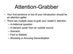 attention grabber essay  attention grabber essay