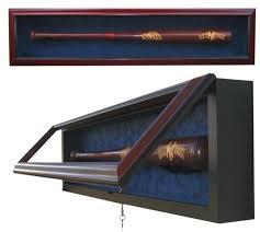 Baseball Bat Display Stand Mesmerizing Baseball Memorabilia Baseball Bat Ball And Cap Displays