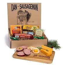 dan the sausageman s yukon gourmet gift basket featuring dan s original sausage 100 wisconsin