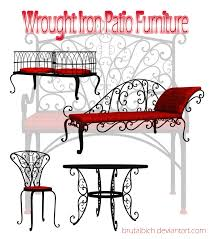 wrought iron chairs restaurant dining