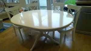 white round extending table round extendable white gloss extending dining table set