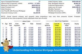 Arm Amortization Schedule Understanding The Reverse Mortgage Amortization Schedule