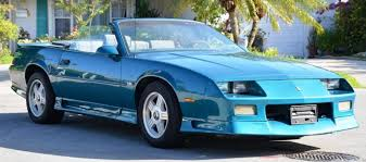 1991 Chevrolet Camaro Cars for sale