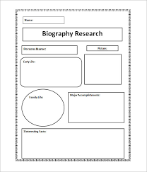 biography template company biography template campaignmonitor  sample biography 6 example format