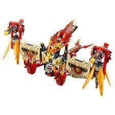 Đồ chơi Lego Chima 70146 Ngôi đền Phượng Hoàng Lửa