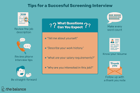 What Is A Screening Interview
