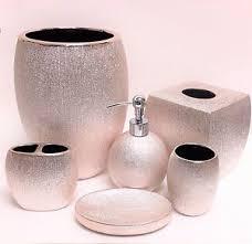 metallic bathroom accessories. 6-pc-set-caro-bright-metallic-rose-gold- metallic bathroom accessories