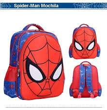 spiderman kids backpack bags cartoon backpack for primary boys s backpack cool bookbag bags for backpack from