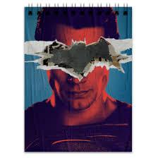 """Блокноты c качественными принтами """"superman"""" - <b>Printio</b>"""
